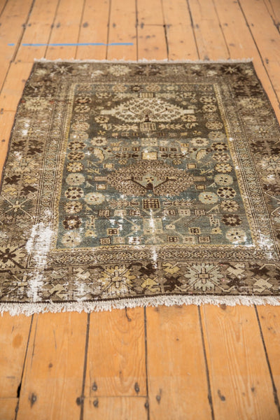 Vintage Distressed Malayer Rug / ONH item ee003582 Image 6