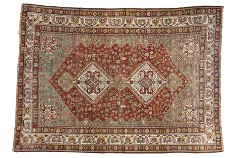 Vintage Distressed Shiraz Carpet / ONH item ee003589