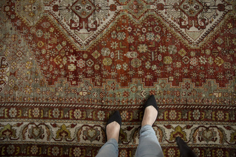 Vintage Distressed Shiraz Carpet / ONH item ee003589 Image 1