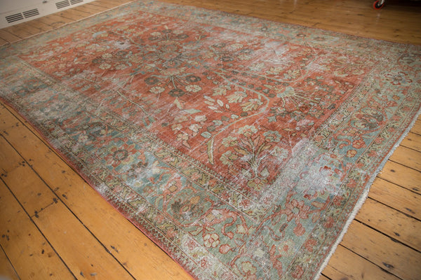 Vintage Distressed Mahal Carpet / ONH item ee003596 Image 3