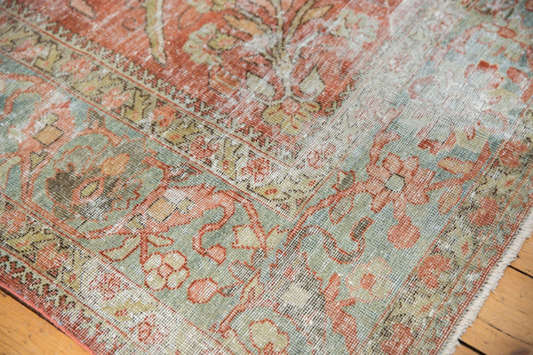 Vintage Distressed Mahal Carpet / ONH item ee003596 Image 4
