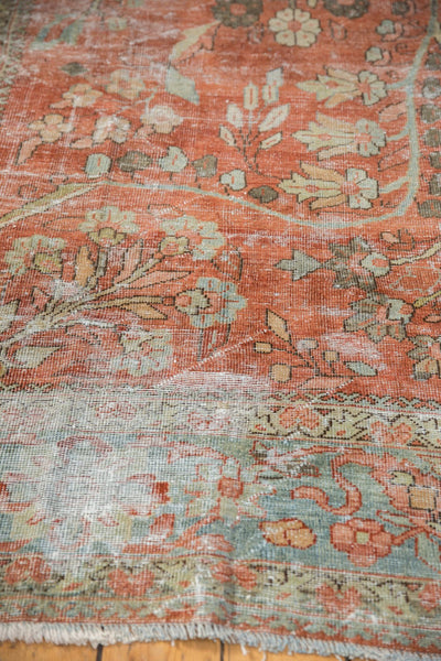 Vintage Distressed Mahal Carpet / ONH item ee003596 Image 6