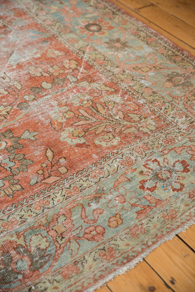 Vintage Distressed Mahal Carpet / ONH item ee003596 Image 7