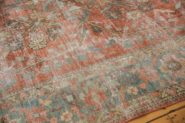 Vintage Distressed Mahal Carpet / ONH item ee003596 Image 9