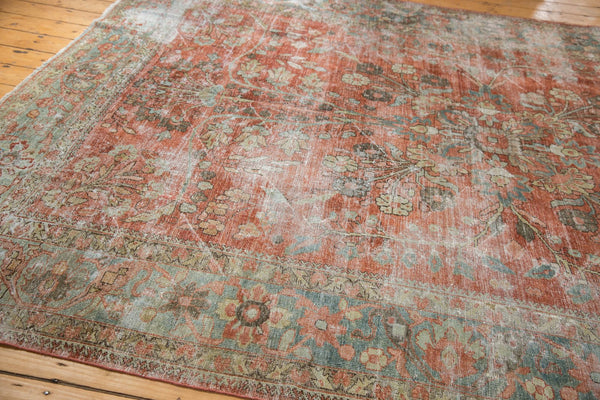 Vintage Distressed Mahal Carpet / ONH item ee003596 Image 10