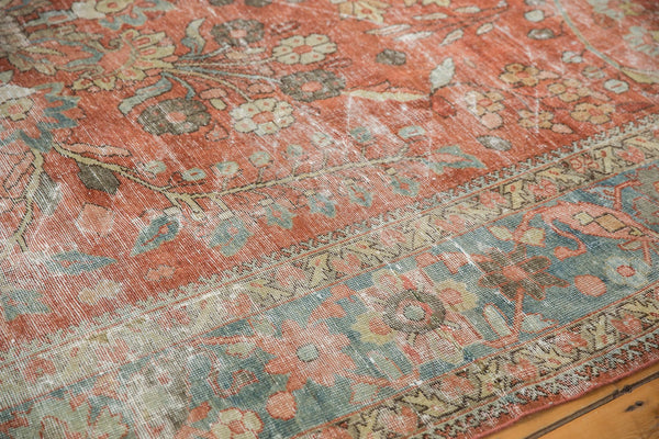 Vintage Distressed Mahal Carpet / ONH item ee003596 Image 11