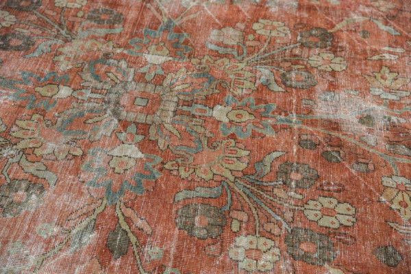 Vintage Distressed Mahal Carpet / ONH item ee003596 Image 12