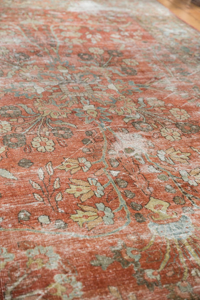 Vintage Distressed Mahal Carpet / ONH item ee003596 Image 15