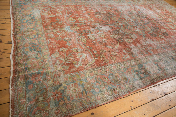 Vintage Distressed Mahal Carpet / ONH item ee003596 Image 16