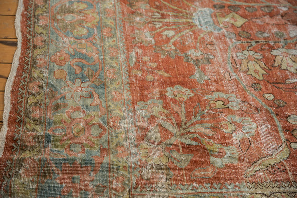 Vintage Distressed Mahal Carpet / ONH item ee003596 Image 17