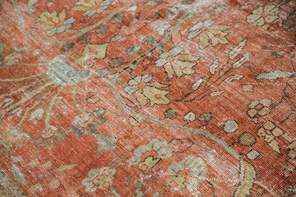 Vintage Distressed Mahal Carpet / ONH item ee003596 Image 18