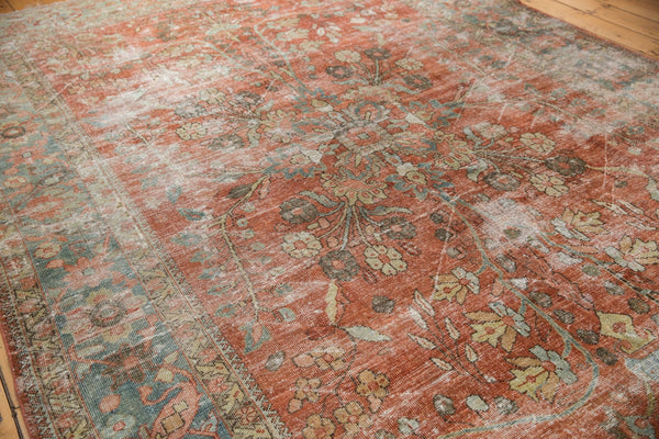 Vintage Distressed Mahal Carpet / ONH item ee003596 Image 19