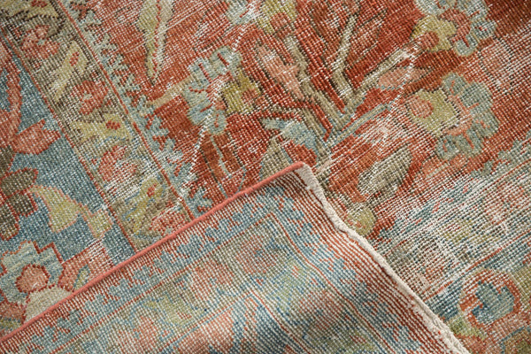 Vintage Distressed Mahal Carpet / ONH item ee003596 Image 20