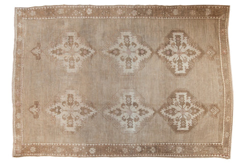 Vintage Distressed Oushak Carpet / ONH item ee003617