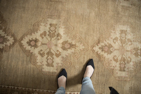 Vintage Distressed Oushak Carpet / ONH item ee003617 Image 1