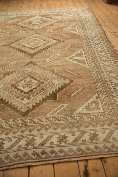 Vintage Distressed Oushak Carpet / ONH item ee003618 Image 4