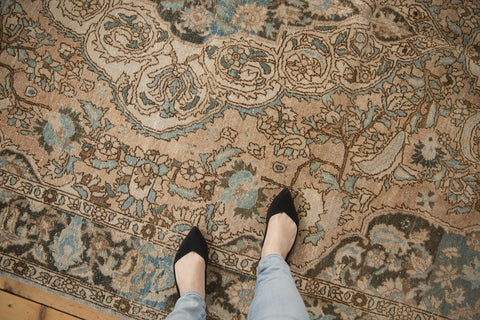 Vintage Distressed Baktiari Carpet / ONH item ee003641 Image 1