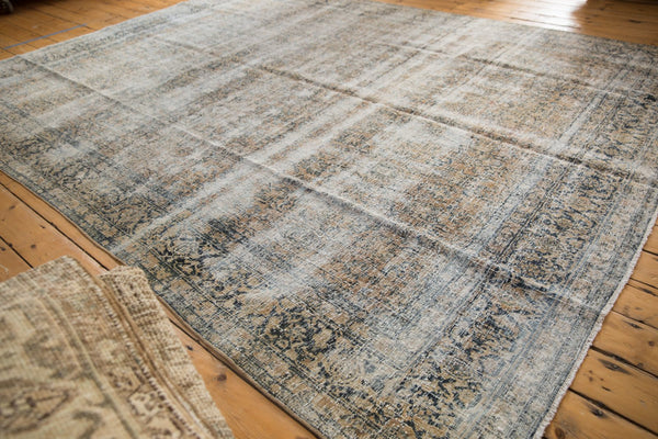 Vintage Distressed Kashan Carpet / ONH item ee003650 Image 4