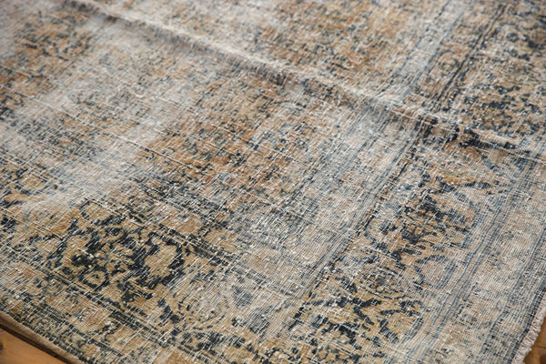 Vintage Distressed Kashan Carpet / ONH item ee003650 Image 5