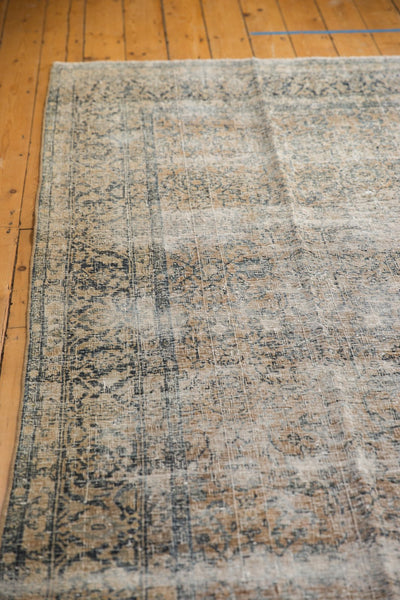 Vintage Distressed Kashan Carpet / ONH item ee003650 Image 6