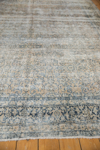 Vintage Distressed Kashan Carpet / ONH item ee003650 Image 10