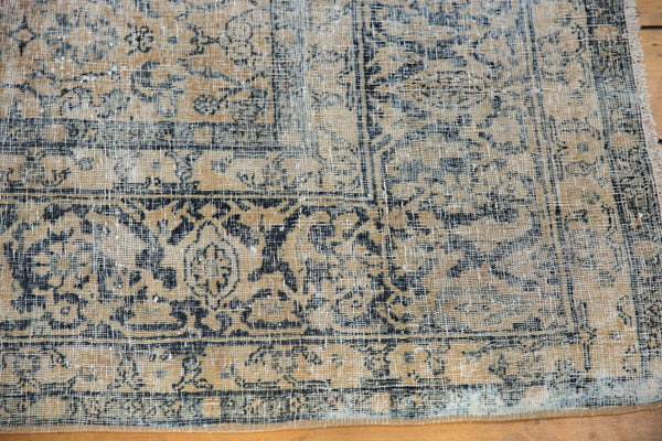 Vintage Distressed Kashan Carpet / ONH item ee003650 Image 16