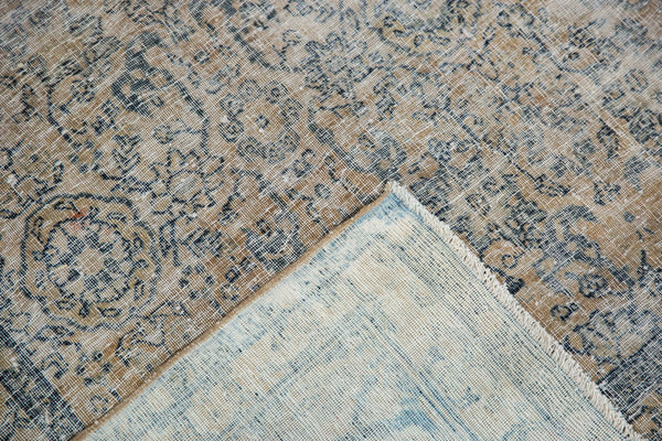 Vintage Distressed Kashan Carpet / ONH item ee003650 Image 17