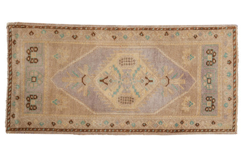 Vintage Distressed Oushak Rug Runner / ONH item ee003661