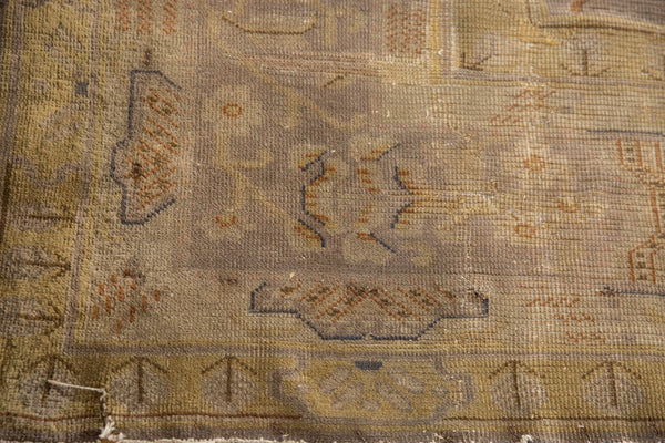 Vintage Distressed Art Deco Carpet / ONH item ee003684 Image 7