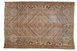 Vintage Distressed Shiraz Carpet / ONH item ee003686