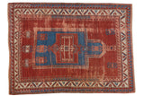 Antique Kazak Carpet / ONH item ee003687