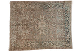 Vintage Distressed Mehrivan Carpet / ONH item ee003693