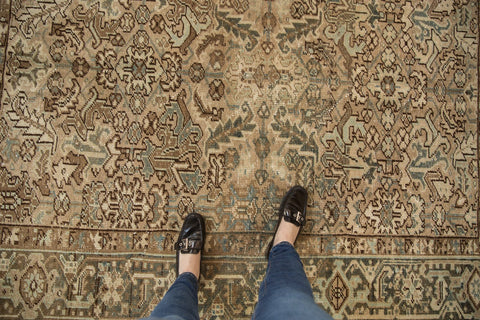 Vintage Distressed Mehrivan Carpet / ONH item ee003693 Image 1
