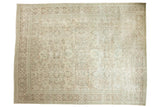 Vintage Distressed Mahal Carpet / ONH item ee003709