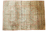 10x14 Vintage Distressed American Sarouk Carpet // ONH Item ee003754