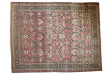 9.5x12.5 Vintage Distressed Tabriz Carpet // ONH Item ee003757