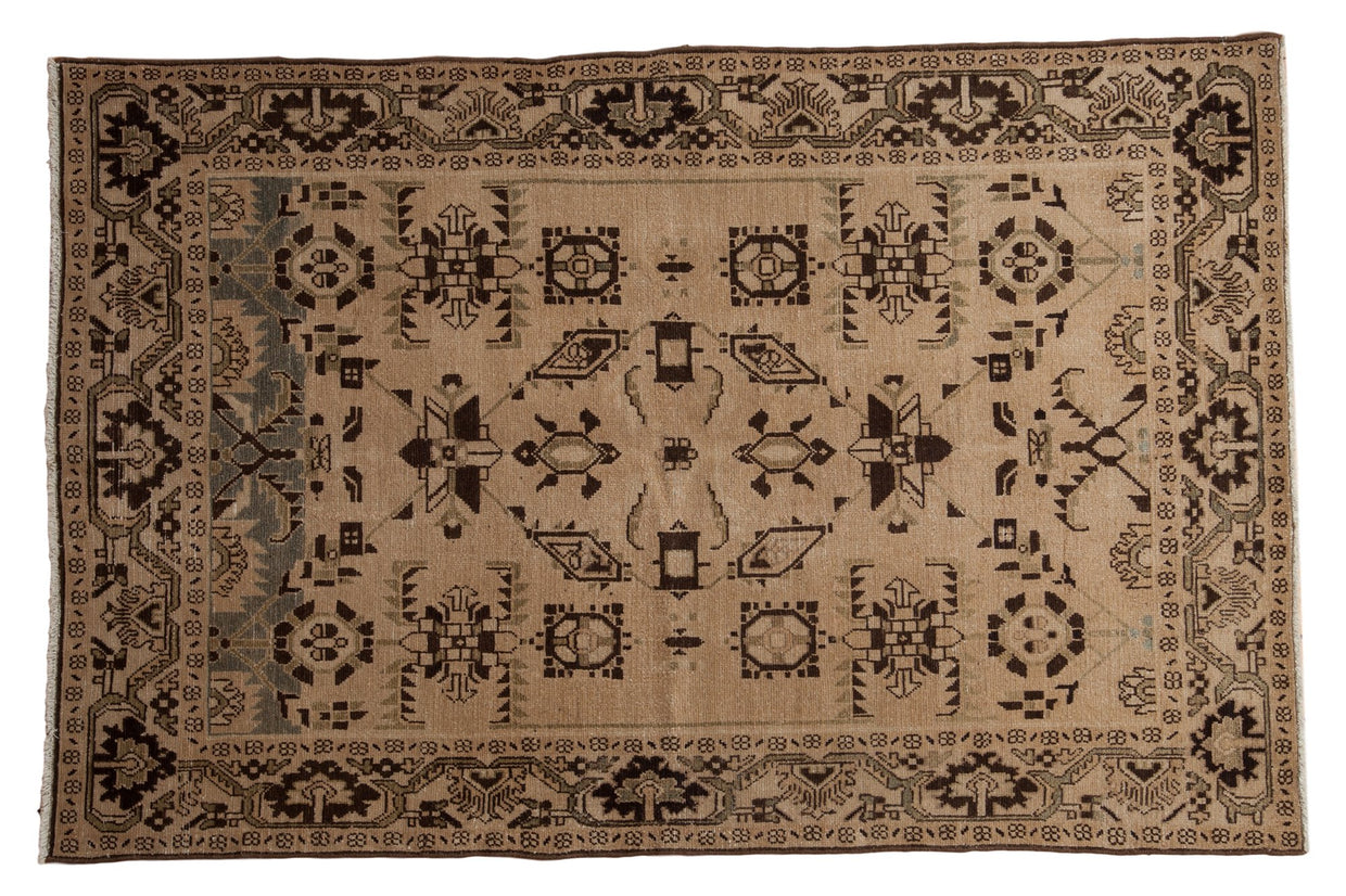 4.5x7 Vintage Distressed Malayer Rug // ONH Item ee003849