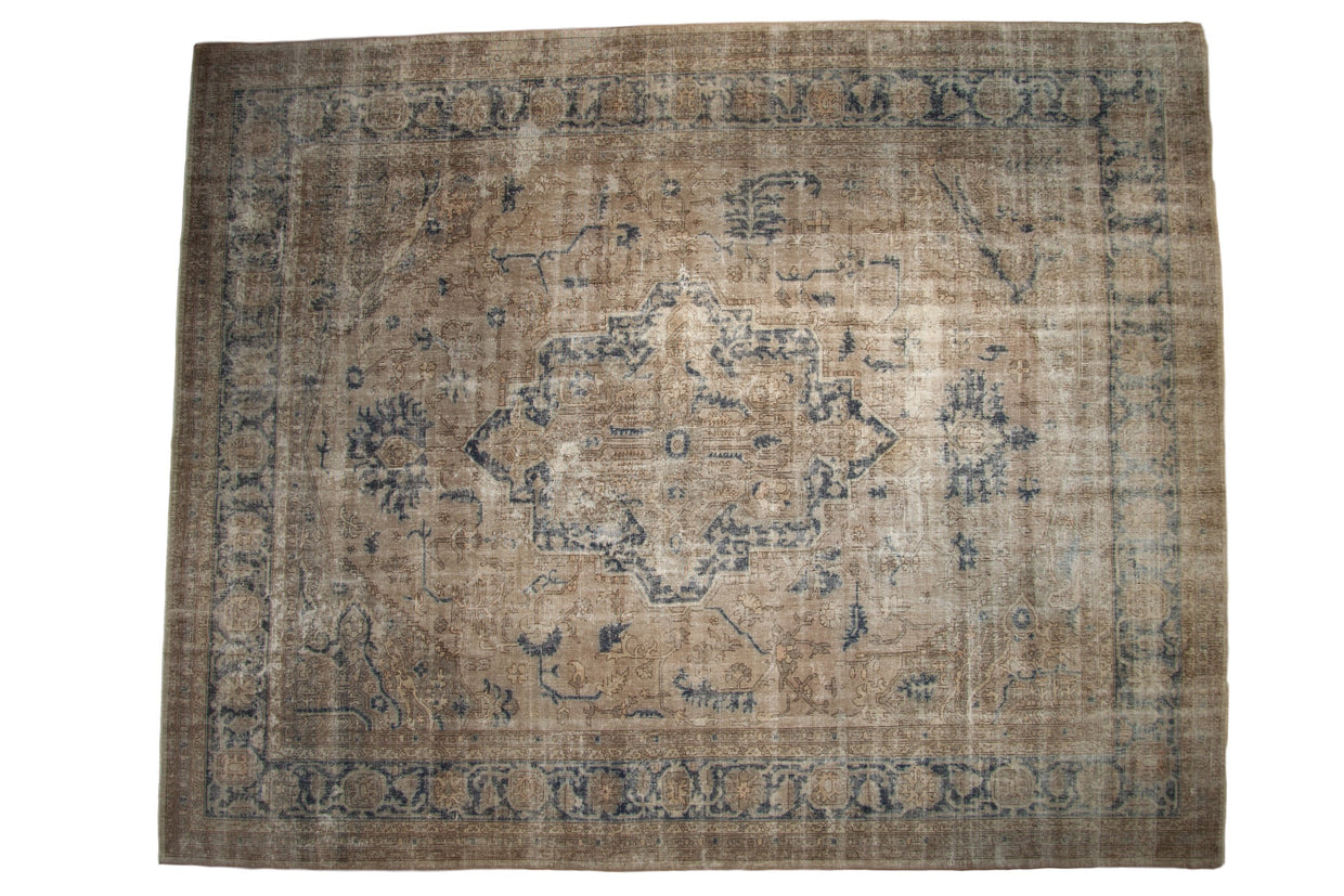 11x14 Vintage Distressed Sparta Carpet // ONH Item ee003988