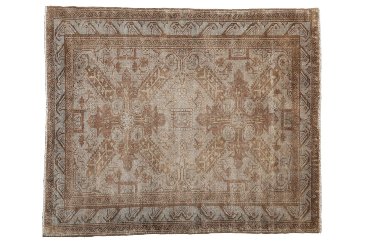 Vintage Distressed Sivas Square Rug / ONH item ee003995