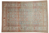 7x10 Vintage Fine Distressed Malayer Carpet // ONH Item ee004097
