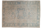 8x11.5 Vintage Distressed Ahar Carpet // ONH Item ee004099