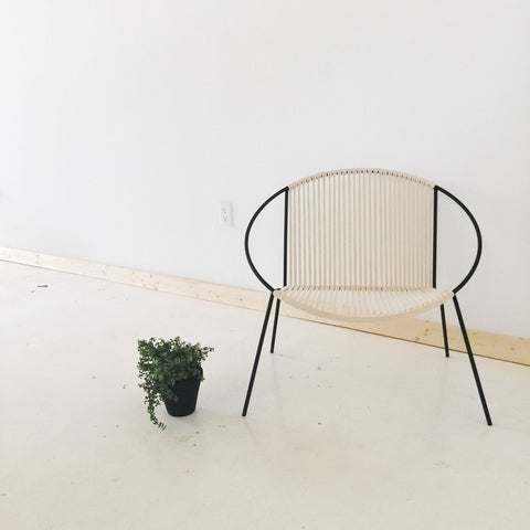 Modern Hoop and Rope Chair