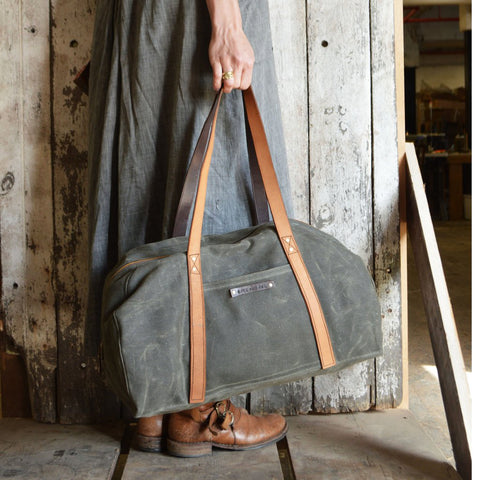 Peg and Awl Journey Duffle Bag Moss