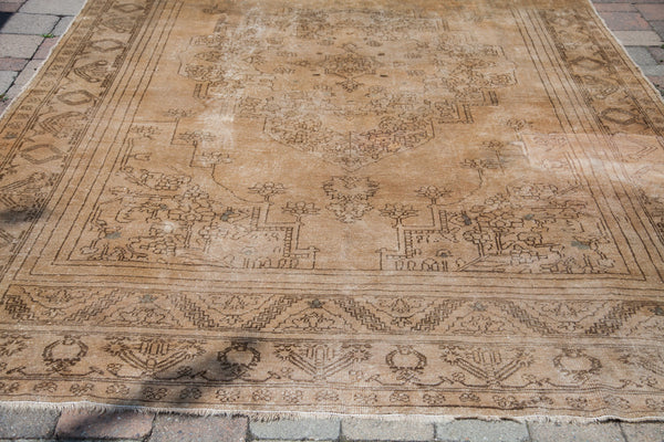 7x11 Vintage Oushak Carpet - Old New House