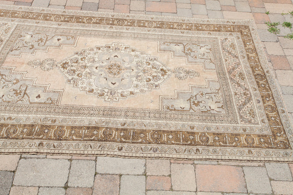 6x10 Vintage Oushak Carpet - Old New House