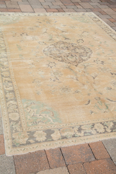 6x9 Vintage Oushak Carpet - Old New House