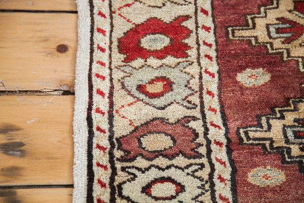 2x2.5 Pair Of Vintage Square Rugs - Old New House