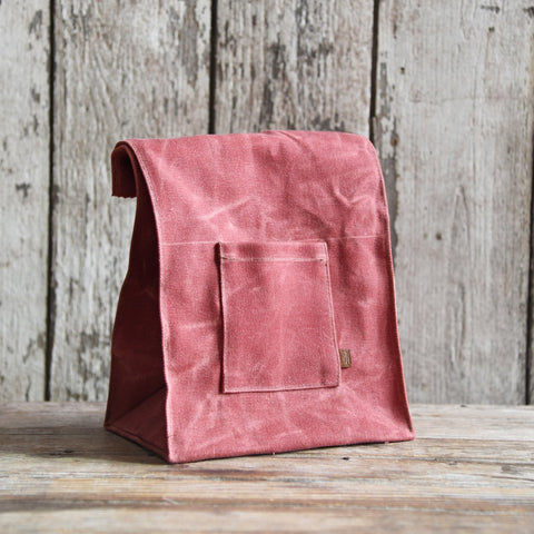 Peg and Awl Marlowe Lunch Bag Radish - Old New House
