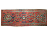 6.5x17.5 Antique Serapi Rug Runner // ONH Item mc001149