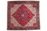 8.5x9.5 Vintage Mehrivan Square Carpet // ONH Item mc001219